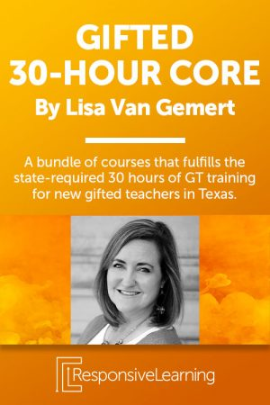 30 Hour Core Training for Educators of Gifted Students