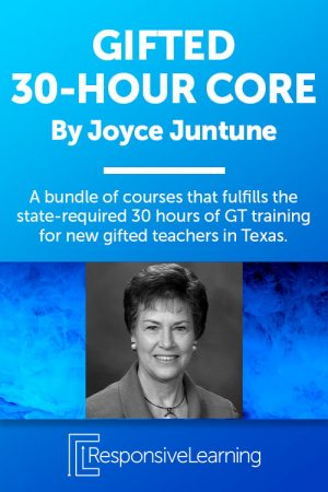 30 Hour Core Training for New Gifted Teachers